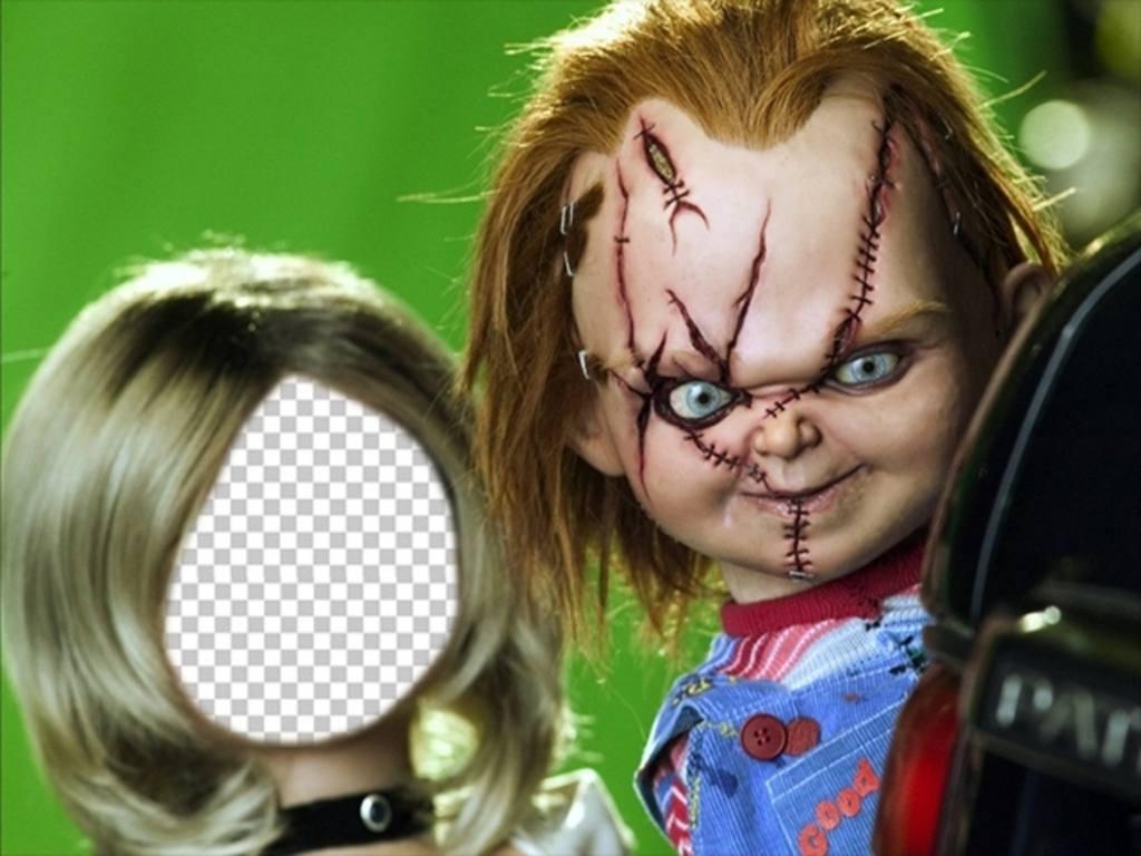 Photomontage de Tiffany, la petite amie de Chucky pour ajouter votre photo