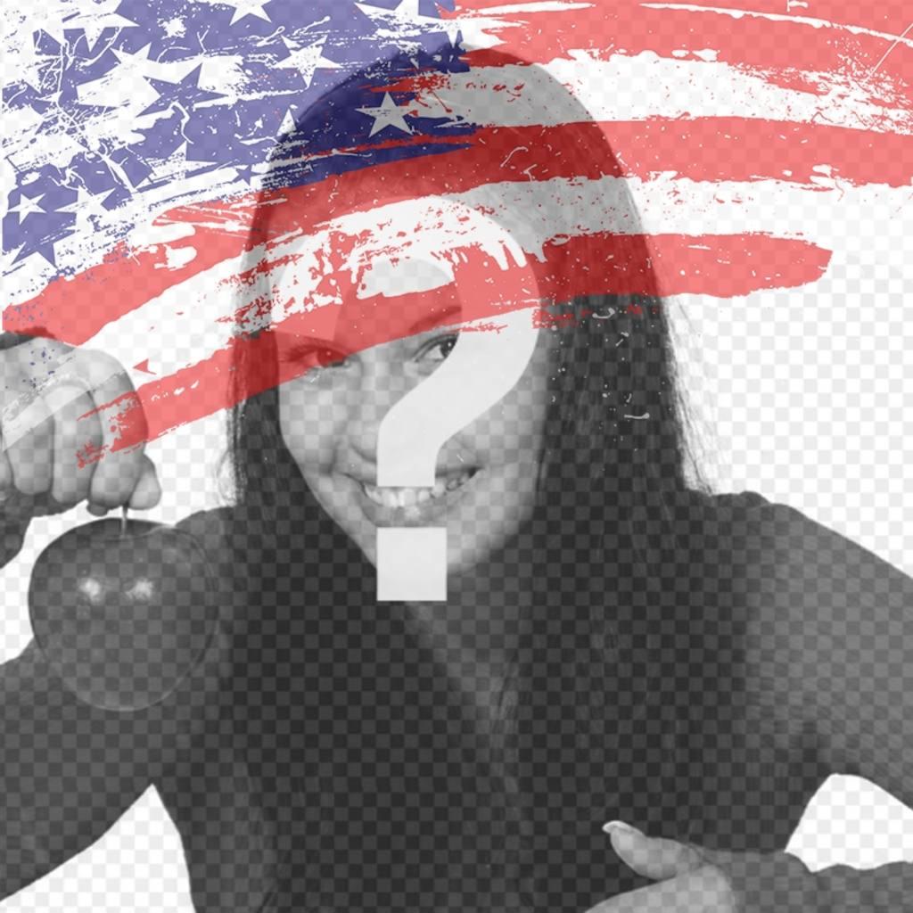 Drapeau des États-Unis de mettre comme photo de profil