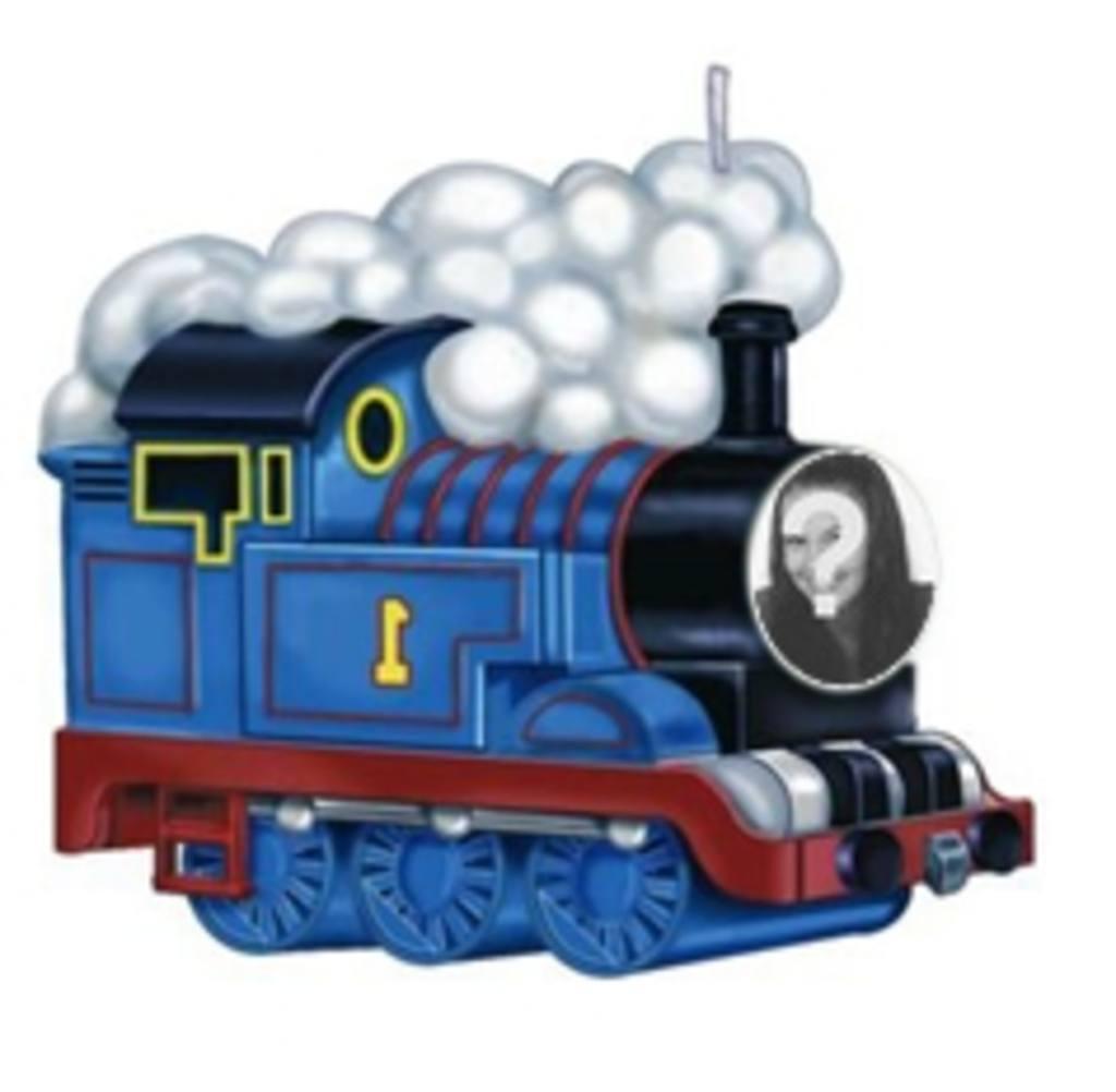 Animation de la Thomas le train de mettre votre photo