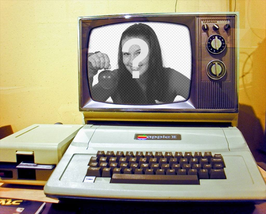 Montage photo avec un vieil ordinateur photoeffets for Ordinateur pour montage photo