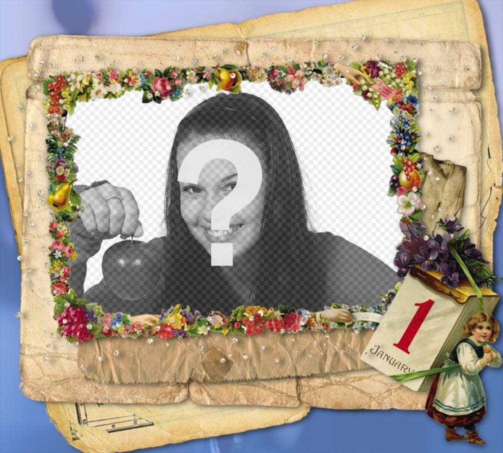 Photo frame 1 Janvier