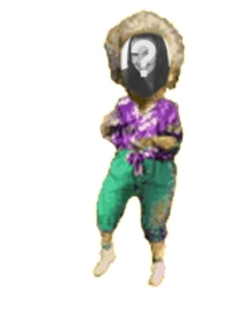 Animation de femme qui danse personnalisé avec votre photo
