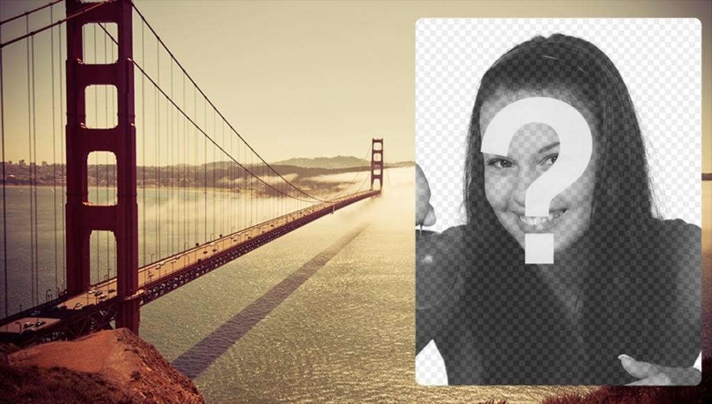 Carte postale avec le Golden Gate Bridge