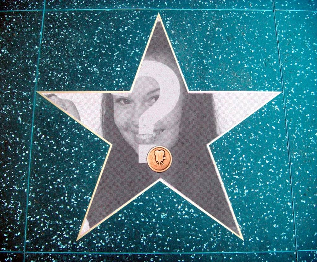 Photomontage dans le walk of fame