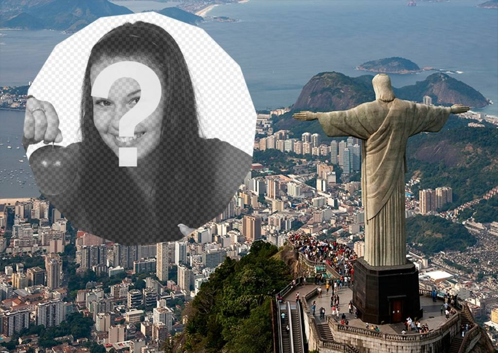Carte postale de Rio