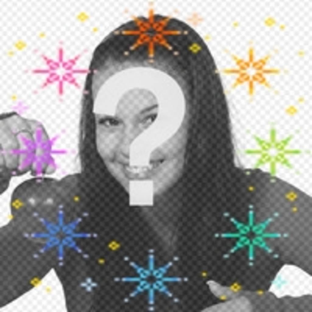 Faites votre avatar plus avec cette animation colorée étoiles