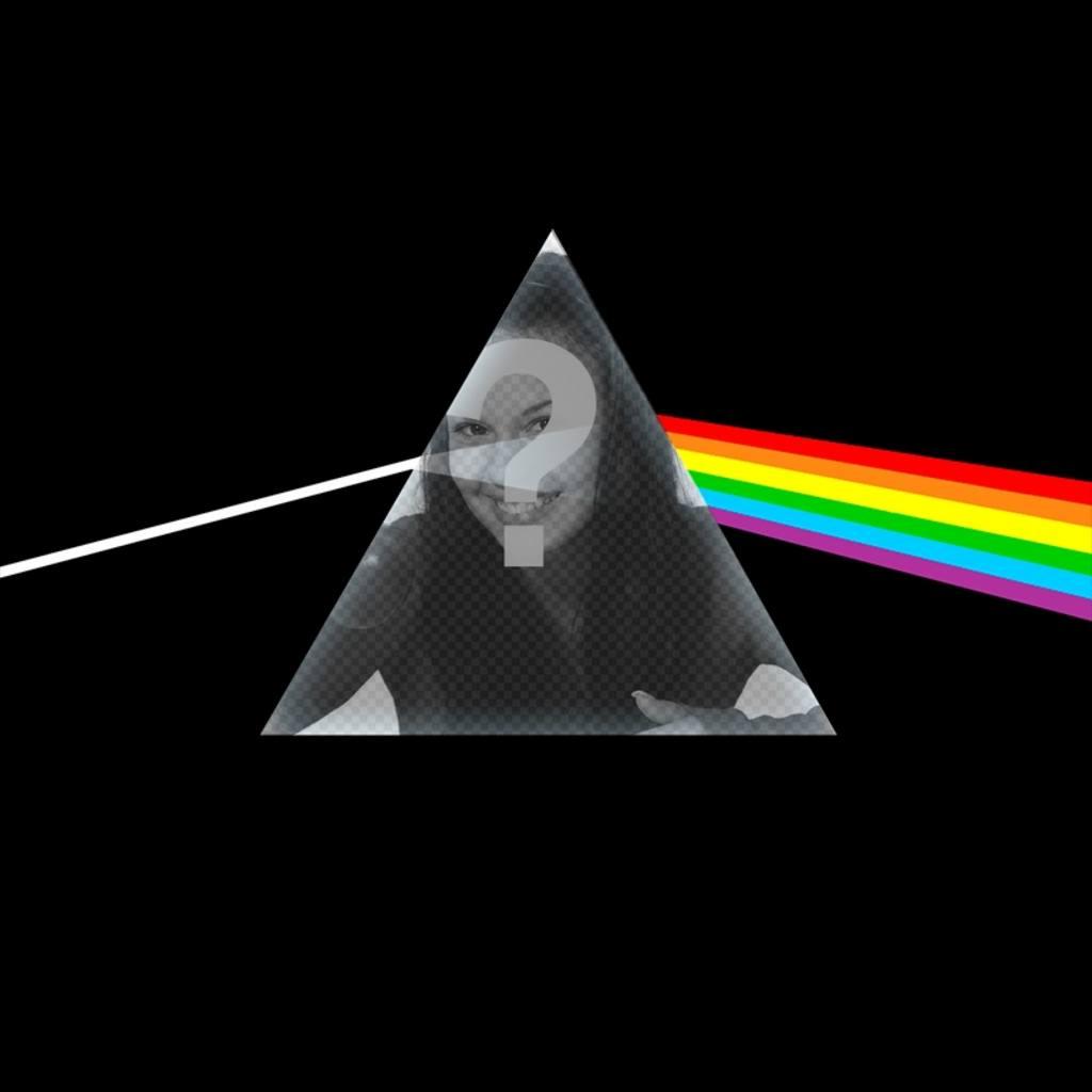 Photomontage avec les photos de Pink Floyd CD