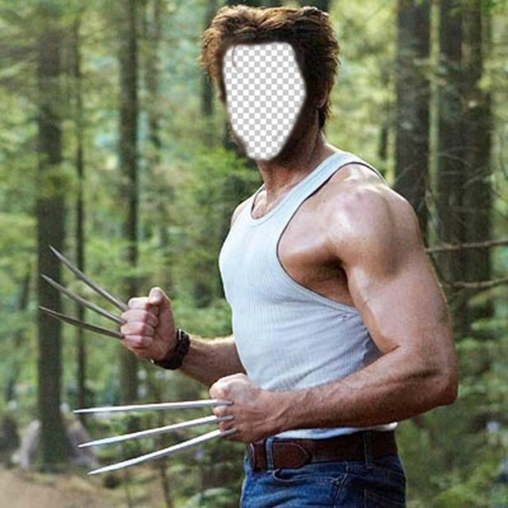 Devenir dans Wolverine du film X-Men avec ce montage corps de commutateur