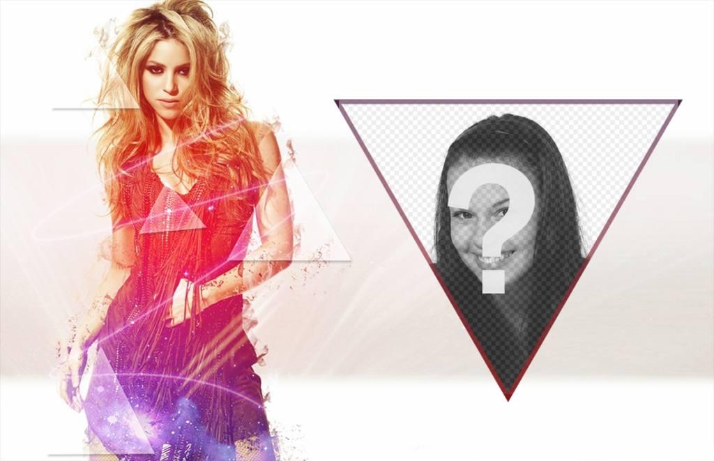 Photomontage de mettre votre photo à côté de Shakira
