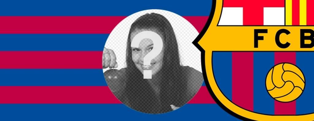 Barça photo de couverture Facebook pour personnaliser à votre image