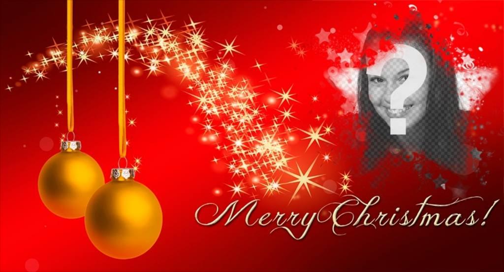 Facebook photo de couverture avec du texte Joyeux Noël