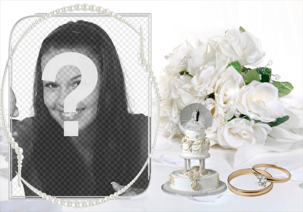 Photos modèle comme cadeau de mariage originale