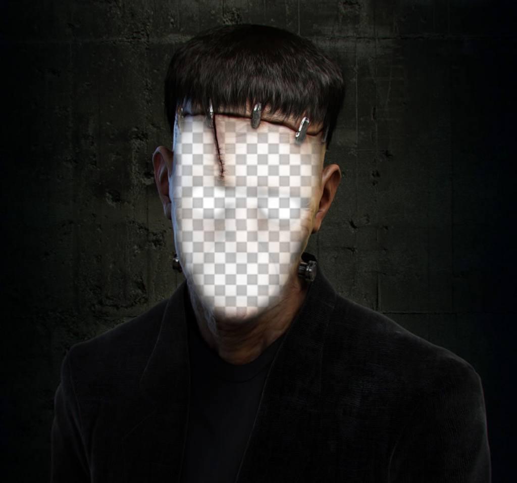 Photomontages Frankenstain pour mettre votre visage en ligne