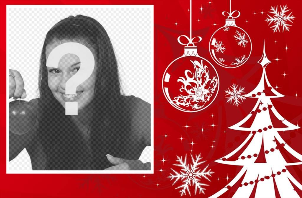 Noël cadre photo pour votre photo
