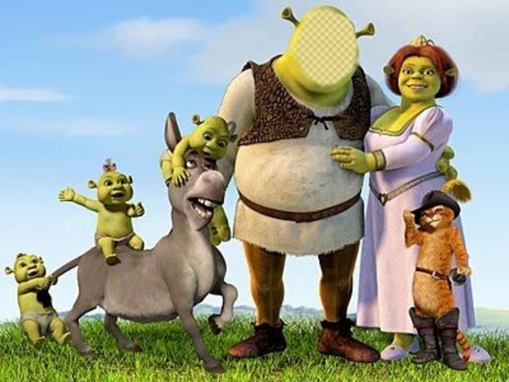 Transformer en Shrek en plaçant votre visage dans son corps en ligne