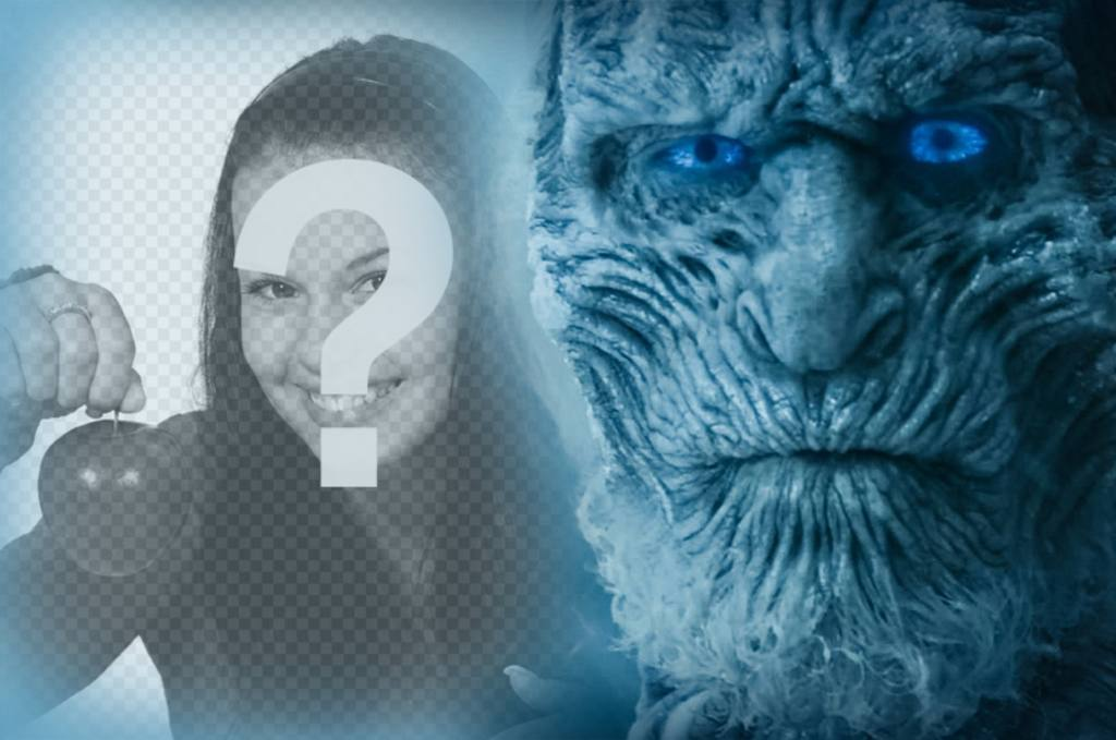 Effet de la Walker White de Game of Thrones