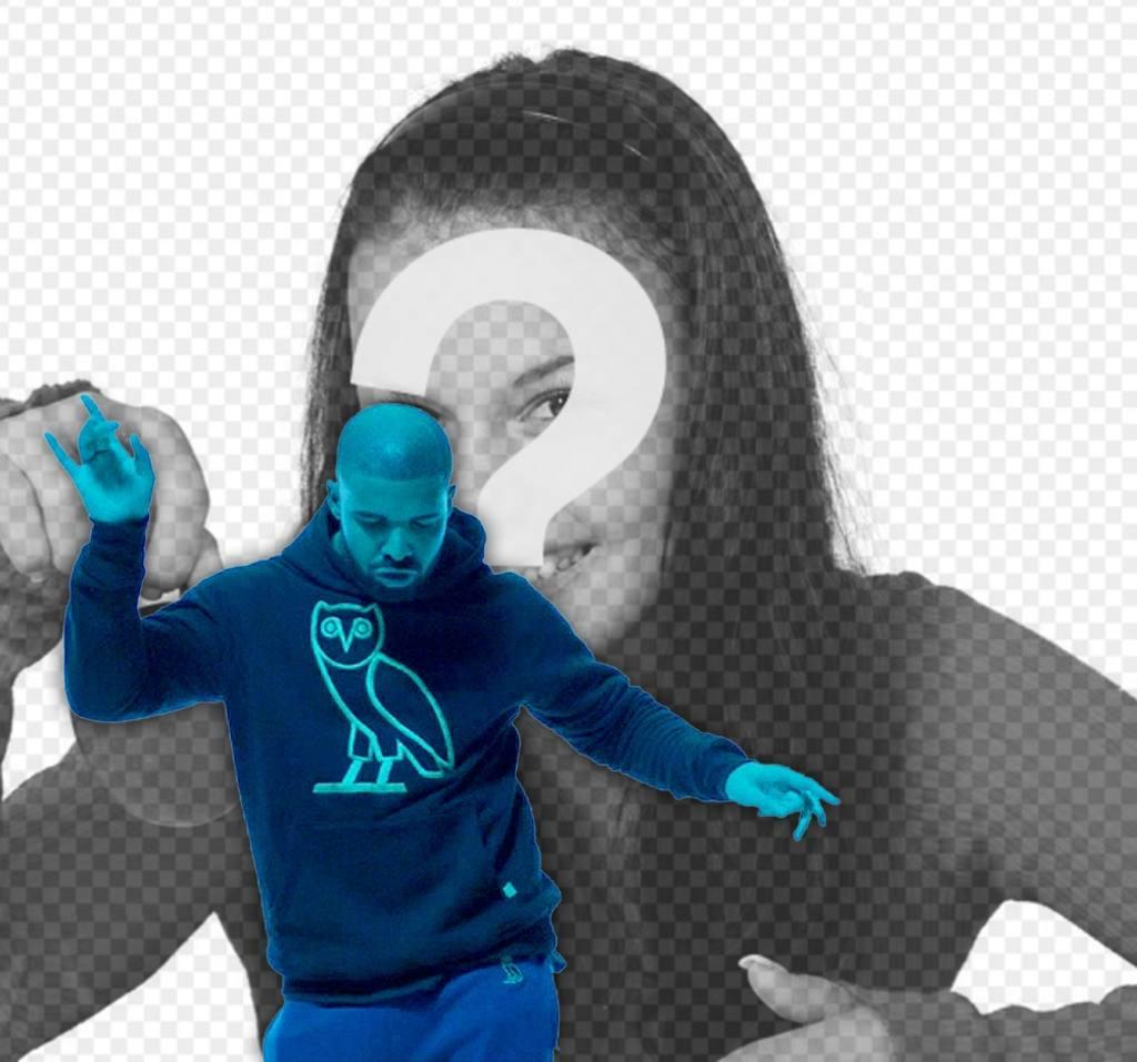 Téléchargez votre photo avec Drake dans son célèbre vidéos
