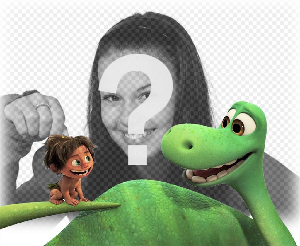 Effet photo du film A Great Dinosaur faire avec votre photo