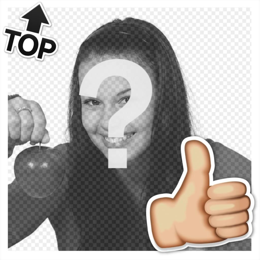 Cadre gratuit pour être sur le TOP avec votre photo