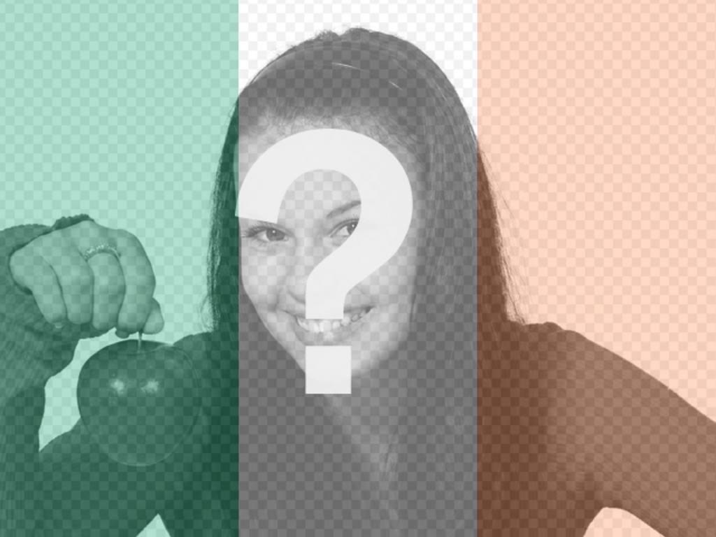 """Collage en ligne pour mettre le drapeau de l""""Irlande sur votre photo de profil"""