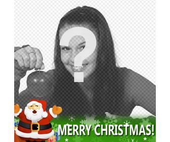 Carte Facebook Spécial Noël à mettre dans votre profil avec le