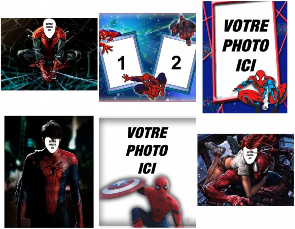 Photomontages en ligne Spiderman