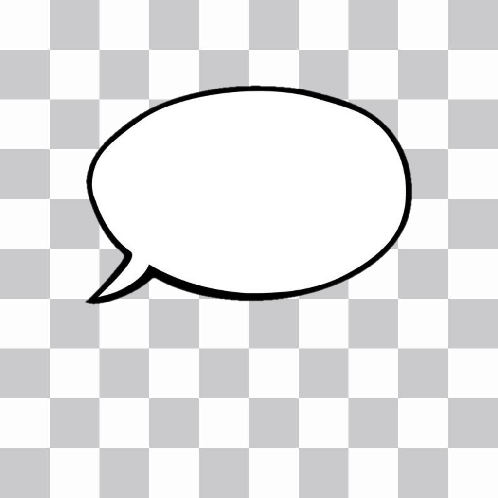 Ballons de texte générateur (collations de style comique) pour ajouter à vos photos. Mettez le texte de style comique