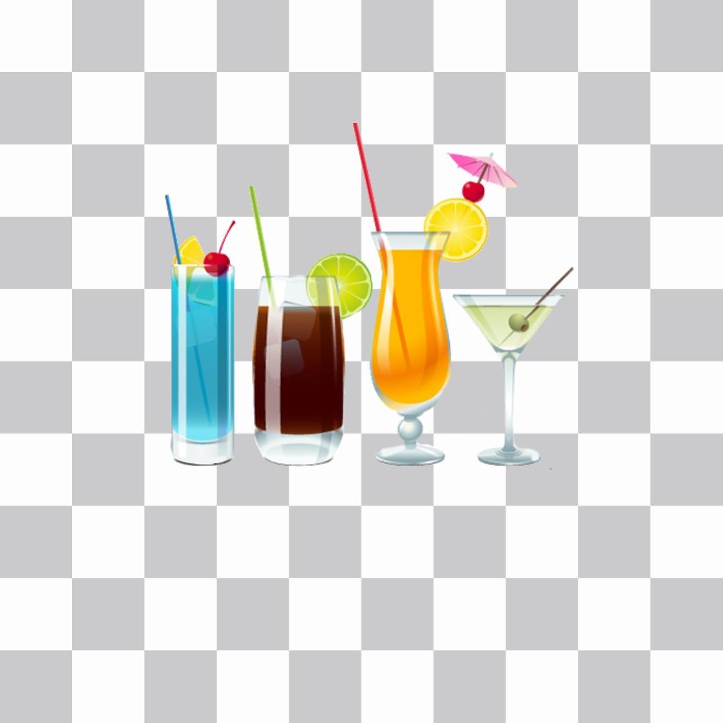 Son été, mettre sur votre profil boissons image dété de dire qui étaient en vacances