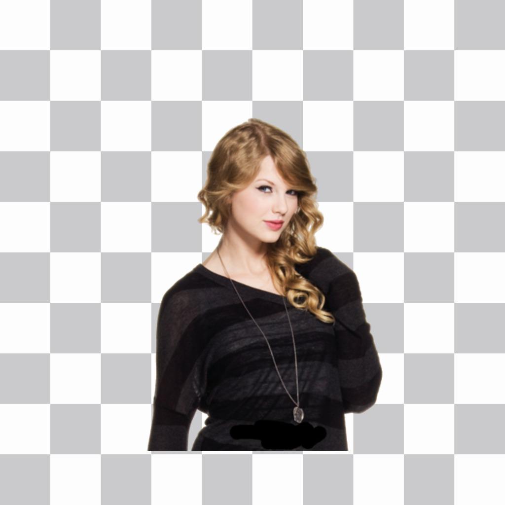Mettez Taylor Swift sur vos photos avec cet autocollant gratuit