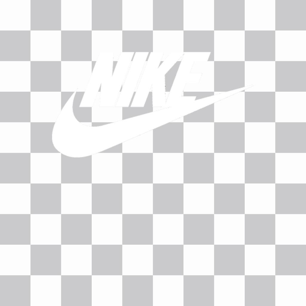 Autocollant du logo Nike à mettre sur vos photos