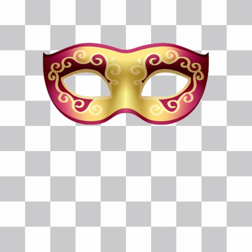 Masques vénitiens pour mettre vos photos et gratuit