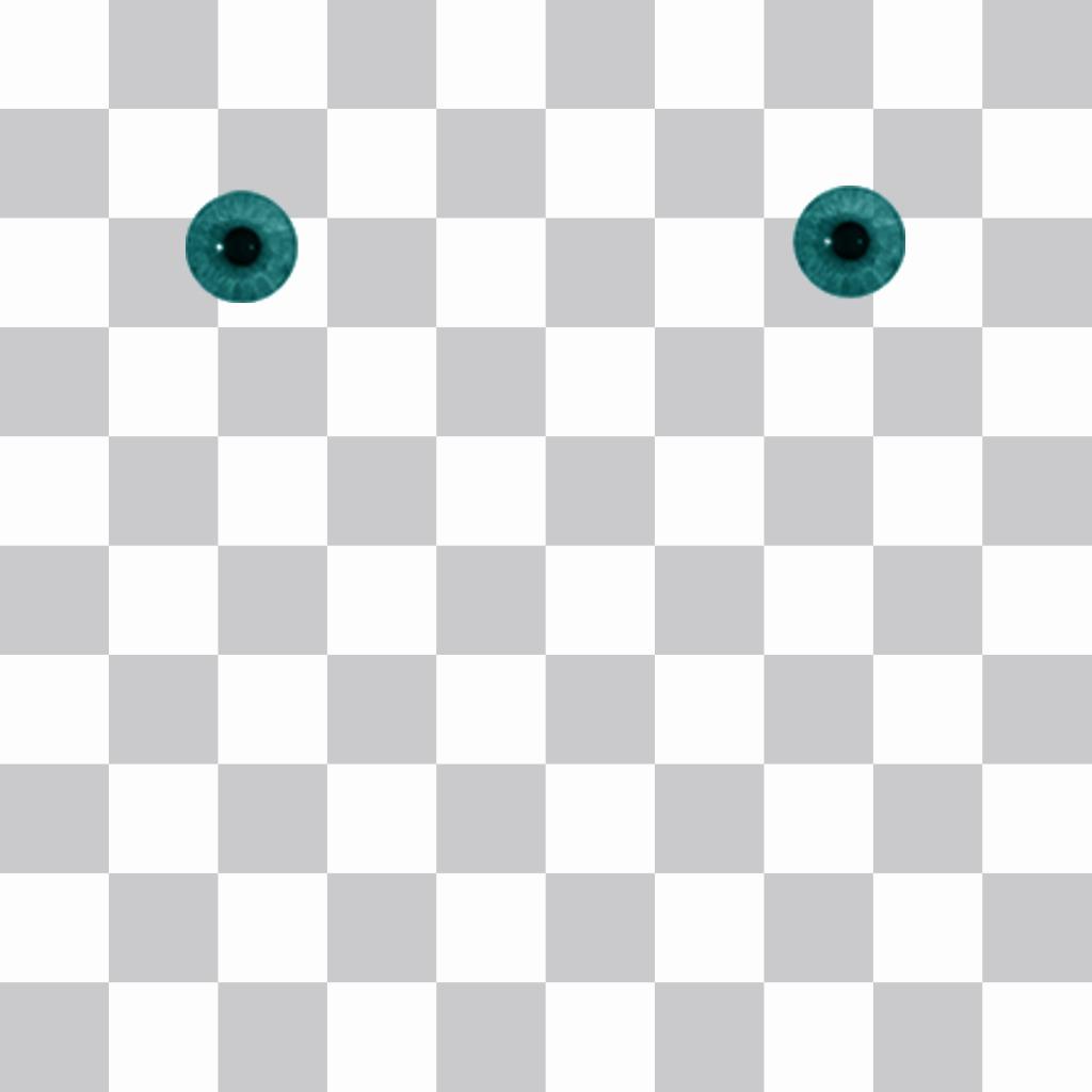 Modifier cet effet photo gratuit si vous voulez avoir les yeux bleus